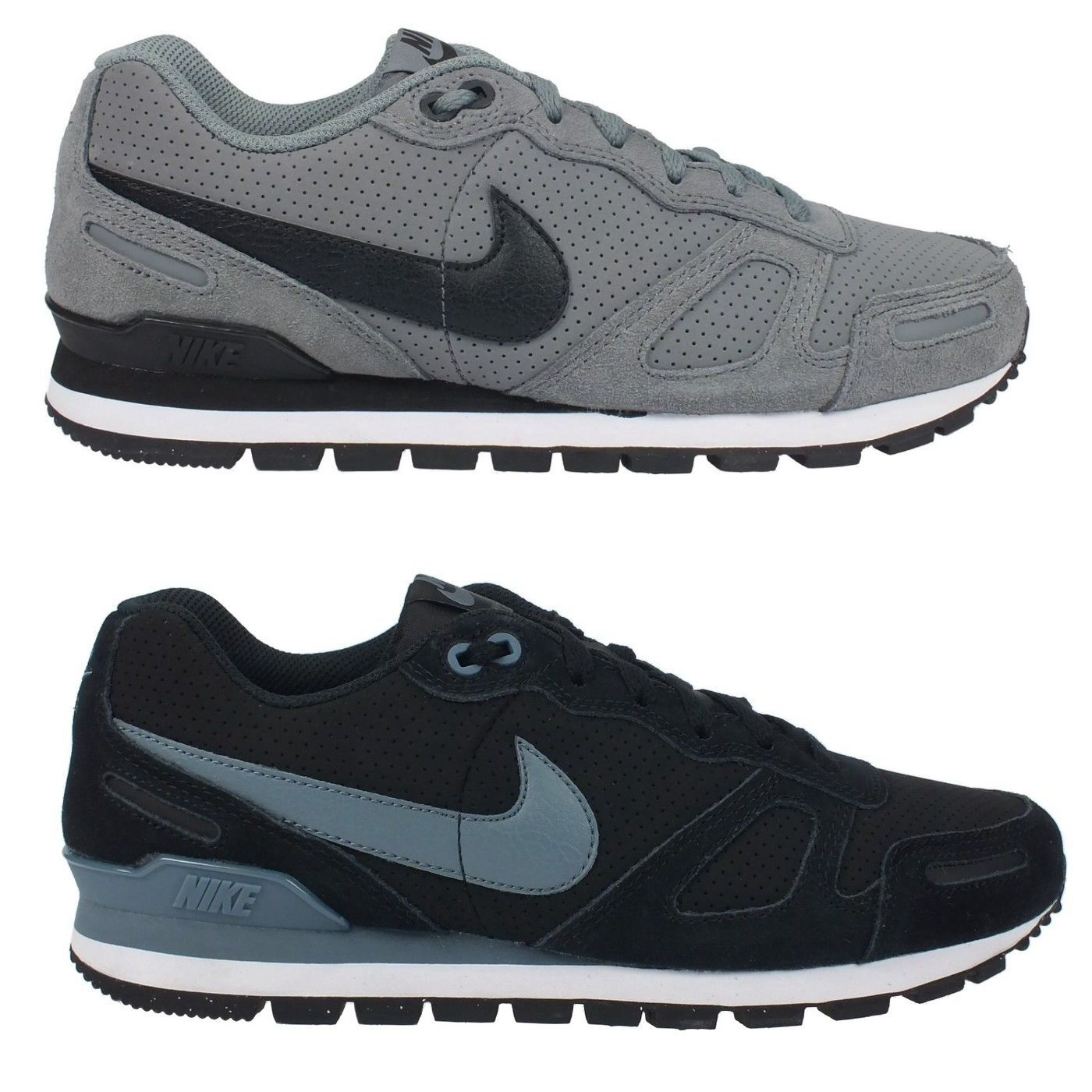 nike air waffle trainer leather men 39 s trainers shoes. Black Bedroom Furniture Sets. Home Design Ideas