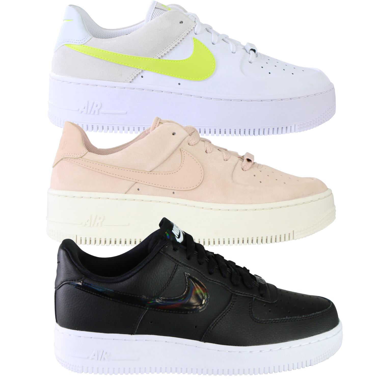 Details zu Nike Air Force 1 Sage Jester XX Patent '07 Essential Low Sneaker Schuhe Damen