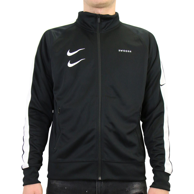 Details zu Nike Sportswear Swoosh Jacke Trainingsjacke Herren Schwarz CJ4884 010