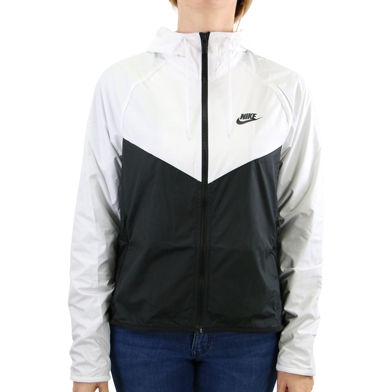 Details zu Nike Sportswear Windrunner Jacke Weiß Damen Windbreaker BV3939 101